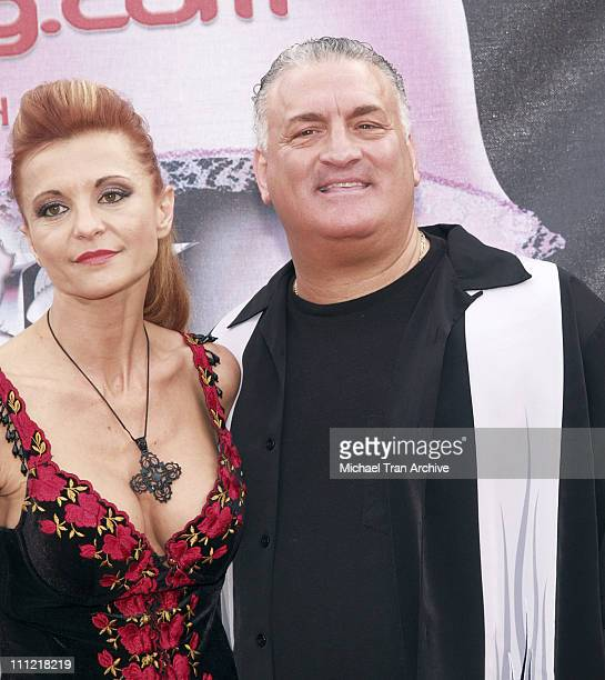 Evanka Buttafuoco and Joey Buttafuoco during Bodogcom Presents the 2006 Lingerie Bowl at Los Angels Memorial Coliseum in Los Angeles California...
