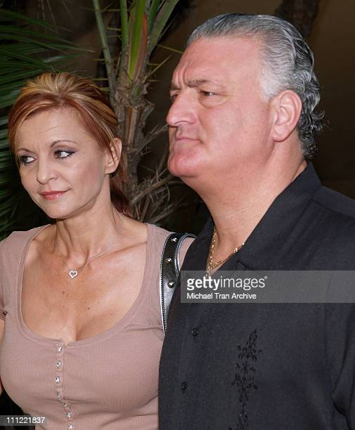 Evanka Buttafuoco and Joey Buttafuoco during Joey Buttafuoco at the San Fernando Courthouse Being Charged with Auto Repair Fraud and Possession of...