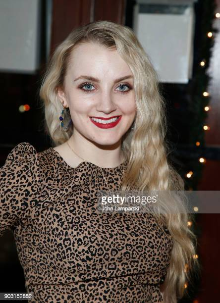 Evanna Lynch attends Disco Pigs opening night at Jake's Saloon on January 9 2018 in New York City