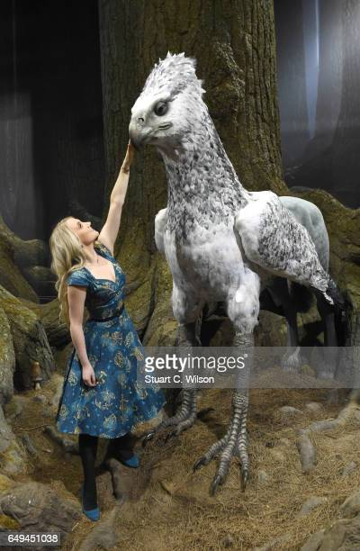 Evanna Lynch attends the First look at The Forbidden Forest a new permanent expansion opening 31st March at Warner Bros Studio Tour London The Making...