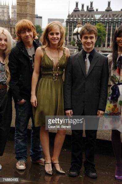 evanna lynch rupert grint emma watson and daniel radcliffe attend the picture