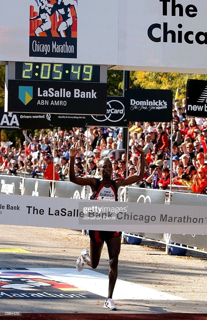 Rutto wins Chicago Marathon : News Photo