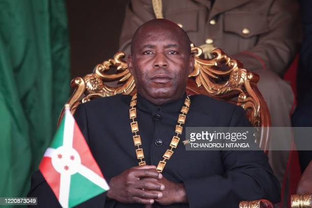 Evariste Ndayishimiye, Burundi's elected President from the ruling party, the National Council for the Defense of Democracy - Forces for the Defense...