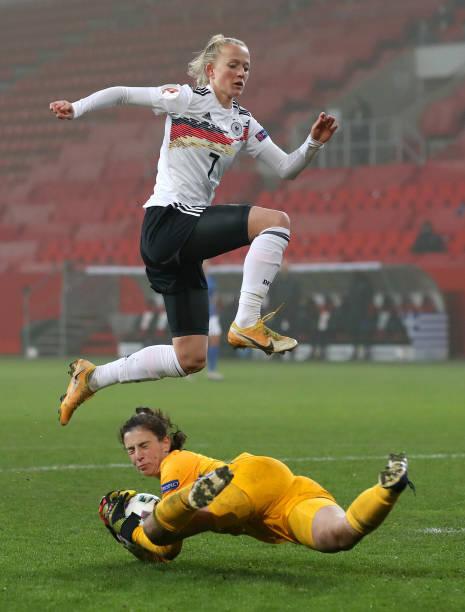 DEU: Germany Women v Greece Women - UEFA Women's EURO 2022 Qualifier