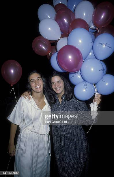 Eve Alda and Elizabeth Alda attend 19th Birthday Party for Elizabeth Alda on August 15 1979 at the Promenade Cafe in New York City
