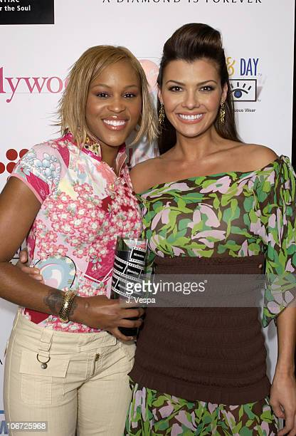 Eve and Ali Landry during AMC & Movieline's Hollywood Life Magazine's Young Hollywood Awards - Portrait Gallery at El Rey Theatre in Los Angeles,...