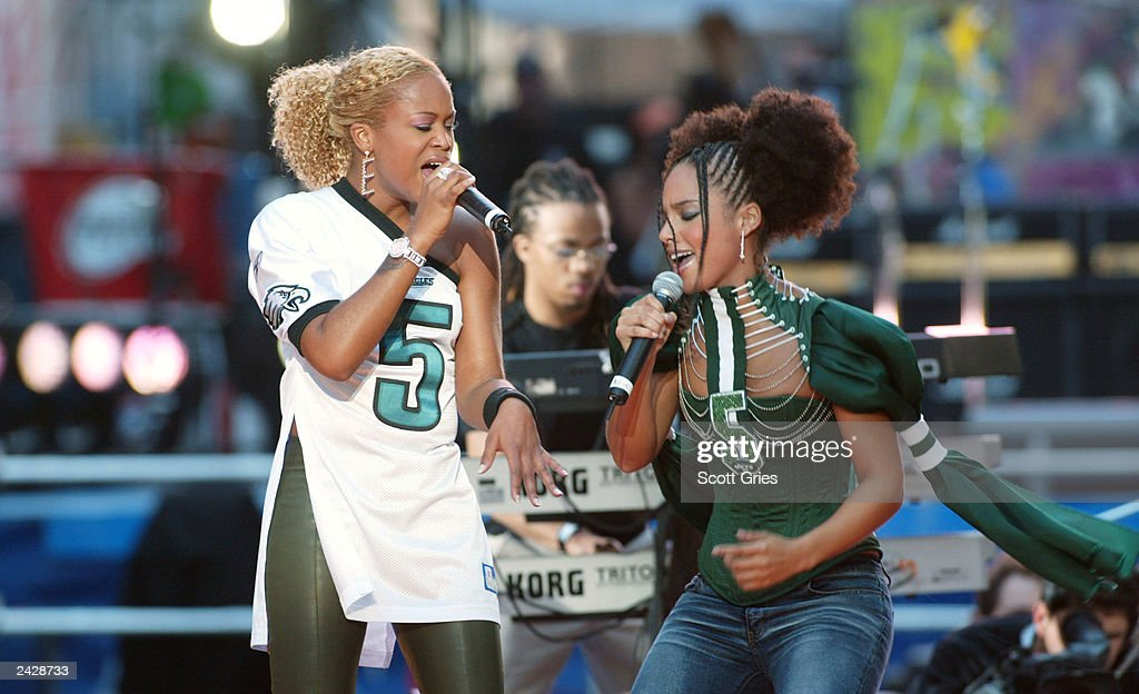 #8 - Eve's 'Gangsta Lovin', sung with Alicia Keys, went to number 2 in September 2002.