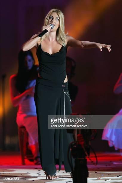 Eve Angeli during Fete de la Musique on France 2 Live Show / Music Day in Versailles at Chateau de Versailles in Versailles, France.