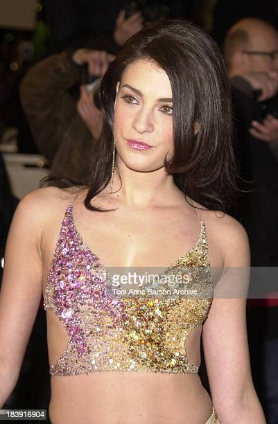 Eve Angeli during NRJ Music Awards 2002 - Arrivals at Palais des Festivals in Cannes, France.
