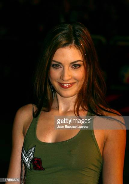 Eve Angeli during NRJ Music Awards 2003 Cannes Arrivals at Palais des Festivals in Cannes France