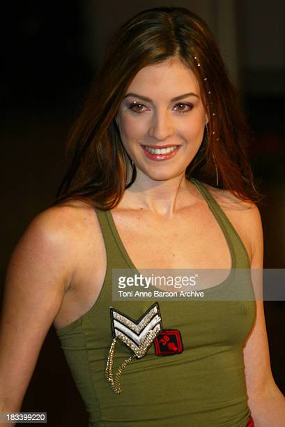 Eve Angeli during NRJ Music Awards 2003 - Cannes - Arrivals at Palais des Festivals in Cannes, France.