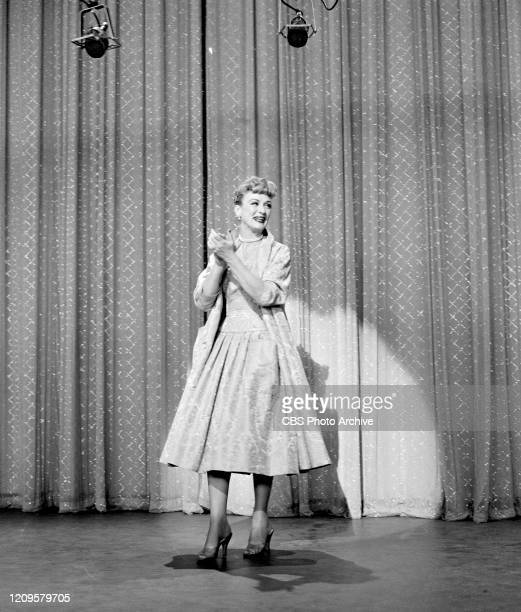 Eve Arden appears on The Ed Sullivan Show on April 29 1956