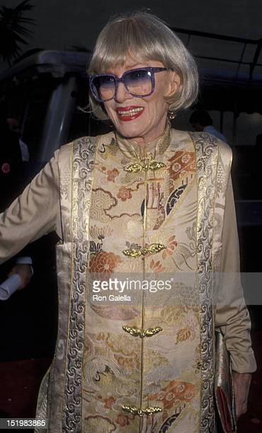 Eve Arden attends Warner Bros Studios Rededication Gala on June 2 1990 in Burbank California