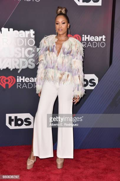 Eve arrives at the 2018 iHeartRadio Music Awards which broadcasted live on TBS TNT and truTV at The Forum on March 11 2018 in Inglewood California
