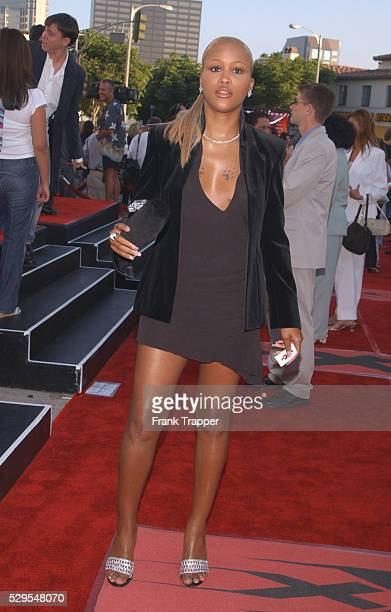 Eve arriving at the world premiere of xXx
