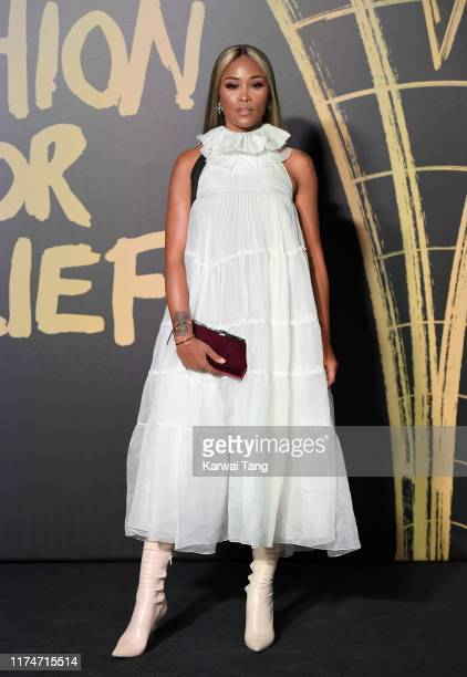 Eve attends Fashion For Relief London 2019 at The British Museum on September 14 2019 in London England
