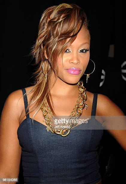 Eve attends the 2008 VH1 Hip Hop Honors awards show at Hammerstein Ballroom on October 2 2008 in New York City
