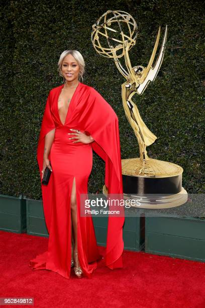 Eve attends the 45th annual Daytime Emmy Awards at Pasadena Civic Auditorium on April 29 2018 in Pasadena California
