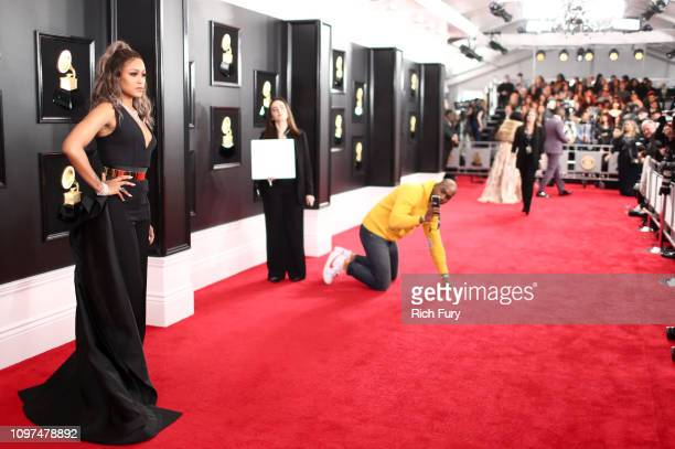 Eve attends the 61st Annual GRAMMY Awards at Staples Center on February 10 2019 in Los Angeles California