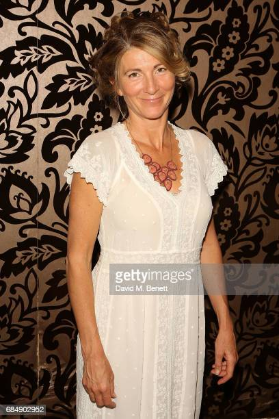 Eve Best Attends the party following the press night performance of 'Love In Idleness' at The Apollo Theatre on May 18 2017 in London England