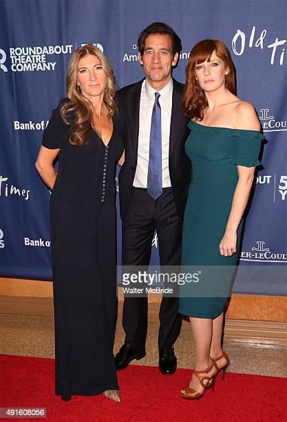 Eve Best, Clive Owen and Kelly Reilly attend the Broadway Opening Night Performance After Party for The Roundabout Theatre Company's revival of 'Old...