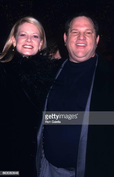 Eve Chilton Weinstein and Harvey Weinstein attend Chicago Screening on December 18 2002 at the Ziegfield Theater in New York City
