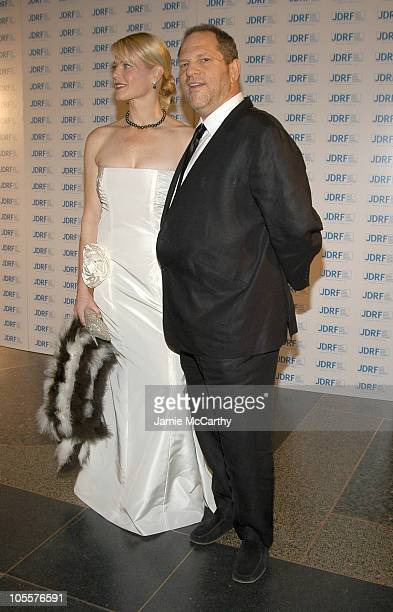 Eve Chilton Weinstein and Harvey Weinstein during 32nd Annual Promise Ball Hosted By The Juvenile Diabetes Research Foundation at American Museum of...