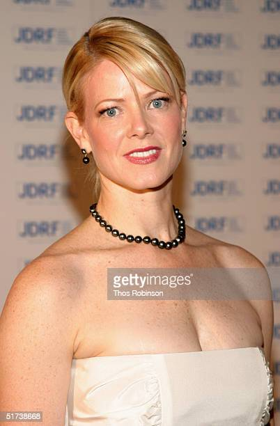 Eve Chilton Weinstein attends the Annual Promise Ball at the American Museum of Natural History on November 13 2004 in New York City