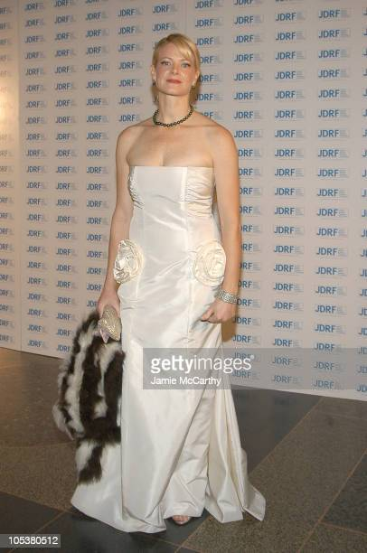 Eve Chilton Weinstein during 32nd Annual Promise Ball Hosted By The Juvenile Diabetes Research Foundation at American Museum of Natural History in...