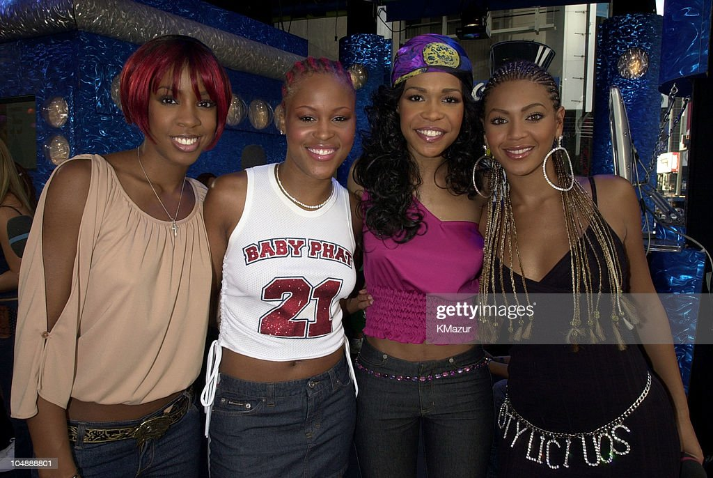 Eve & Destiny's Child during MTV's 'TRL' Tour - July 12, 2001 at MTV Studios in New York City, New York, United States.
