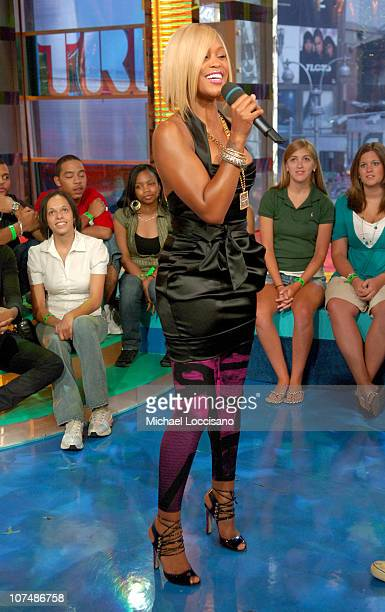 """Eve during Eve Visits MTV's """"TRL"""" - June 13, 2007 at MTV Studios in New York City, New York, United States."""