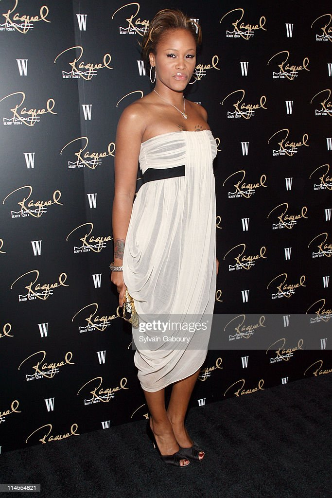 Eve during M.A.C Cosmetics Honored Raquel Welch as the New Beauty Icon - Arrivals at Gilt The New York Palace Hotel in New York City, New York, United States.