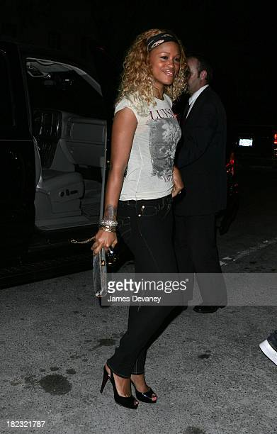 Eve during Mario Testino and French Vogue Host Party To Honor Bee Schafer at Gramercy Park Hotel in New York City New York United States