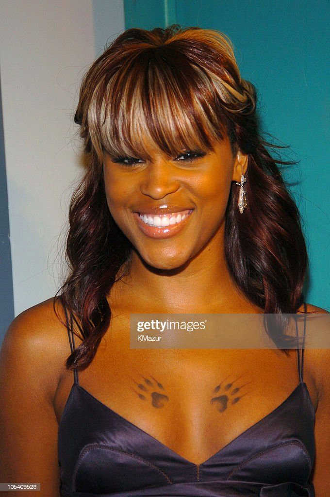 Eve during MTV Movie Awards 2004 - Backstage and Audience at Sony Pictures Studios in Culver City, California, United States.