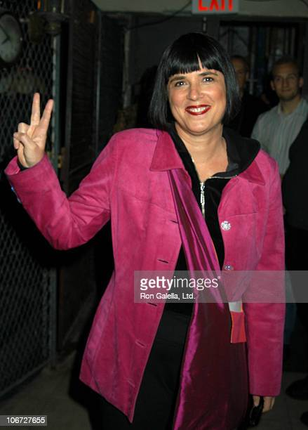 Eve Ensler during Like A Totally FunnyWhatever Benefit Variety Event for the Trestor Project at The Zipper Theater in New York New York United States