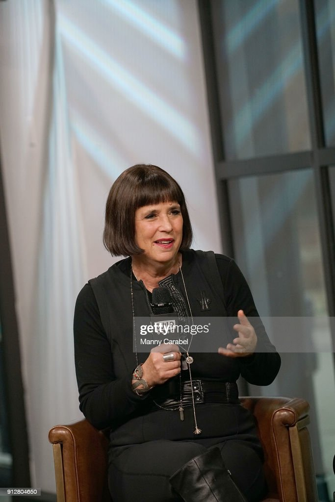 Eve Ensler visits the Build Series at Build Studio on January 31, 2018 in New York City.