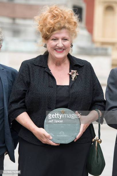 Eve Ferret attends the launch of the Royal Albert Hall 'Walk Of Fame' at Royal Albert Hall on September 4 2018 in London England