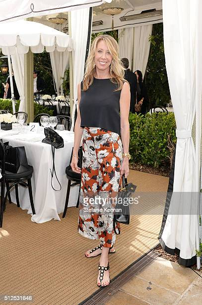 Eve Geber attends NETAPORTER Celebrates Women Behind The Lens at Chateau Marmont on February 26 2016 in Los Angeles California