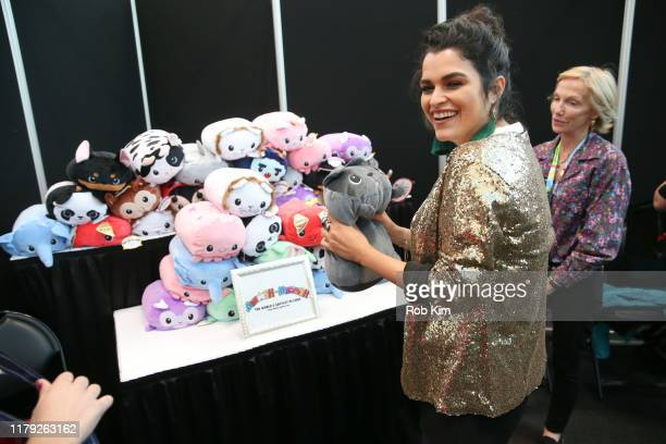 Eve Harlow attends Day 2 of Backstage Creations Celebrity Retreat at New York Comic Con on October 05 2019 in New York City
