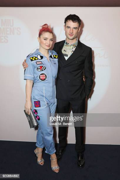 Eve Hewson and Tom Sturridge attend the Miu Miu Women's Tales Screening at The Curzon Mayfair on February 19 2018 in London England