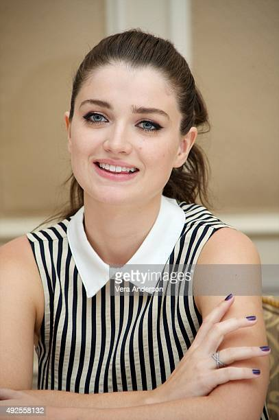 Eve Hewson at The Knick Press Conference at the Waldorf Astoria Hotel on October 12 2015 in New York City