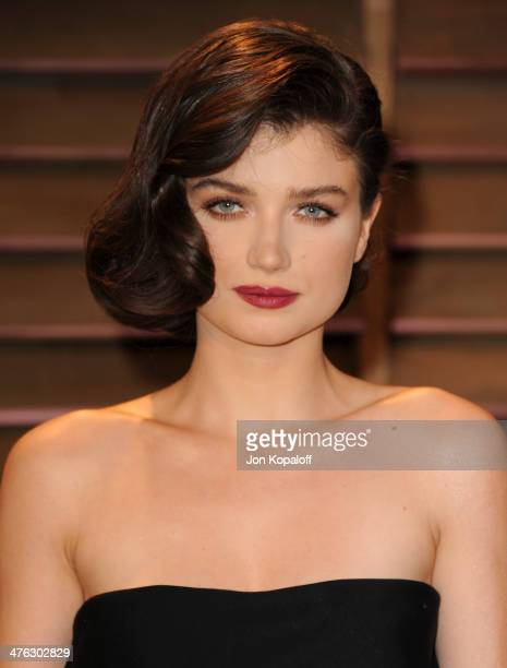 Eve Hewson attends the 2014 Vanity Fair Oscar Party hosted by Graydon Carter on March 2 2014 in West Hollywood California