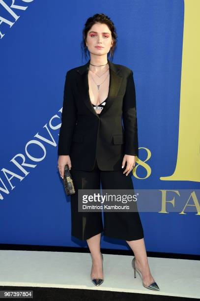Eve Hewson attends the 2018 CFDA Fashion Awards at Brooklyn Museum on June 4 2018 in New York City