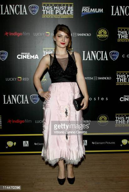 Eve Hewson attends the 'This Must Be The Place' party hosted by Lancia during the 64th Cannes Film Festival at Plage La Mandala on May 20 2011 in...