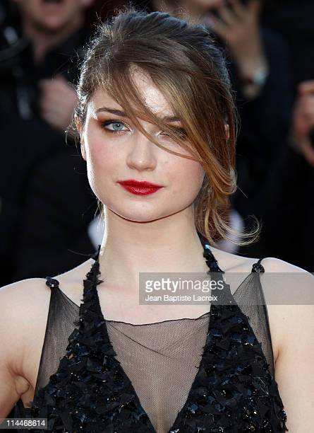 Eve Hewson attends the 'This Must Be The Place' Premiere during the 64th Cannes Film Festival at Palais des Festivals on May 20 2011 in Cannes France