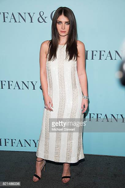 Eve Hewson attends Tiffany Co Celebrates The 2016 Blue Book at the Cunard Building on April 15 2016 in New York City