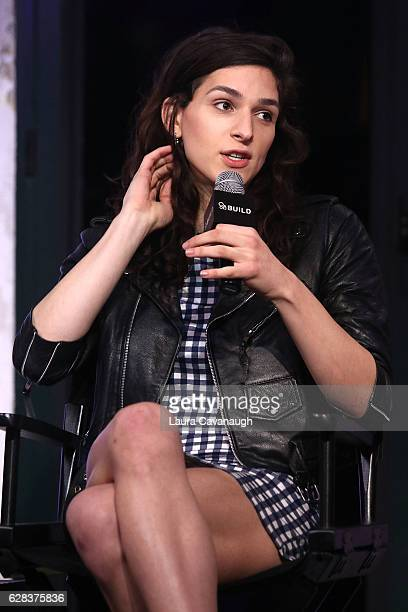 Eve Lindley attends Build Presents to discuss the new film All We Had at AOL HQ on December 7 2016 in New York City