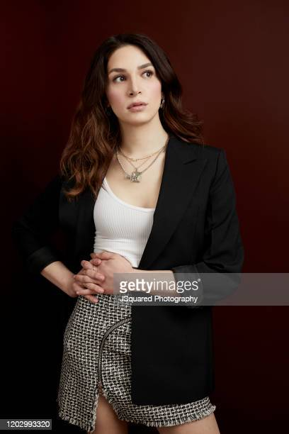 Eve Lindley of AMC's Dispatches from Elsewhere pose for a portrait at the 2020 Winter TCA Portrait Studio at The Langham Huntington Pasadena on...