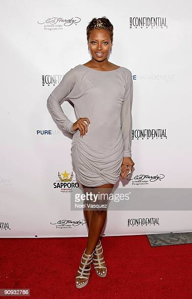 Eve Marcille attends Los Angeles Confidential magazine's annual pre-Emmy party, hosted by Heidi Klum and Niche Media CEO Jason Binn, held at a...
