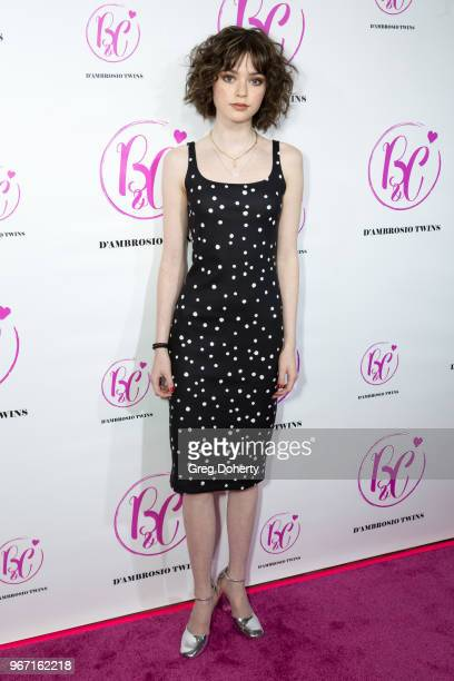 Eve Moon attends the Bianca And Chiara D'Ambrosio Celebrate Their 13th Birthday Party at The Beverly Hilton Hotel on June 3 2018 in Beverly Hills...
